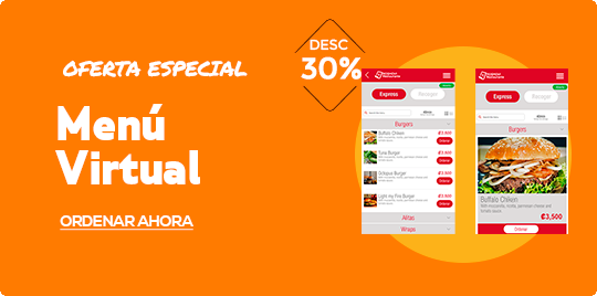 Menú Virtual para Restaurantes
